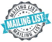 Mailing List Badge