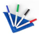 Clean Wipe Cloth & Dry Erase Markers