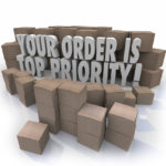 Your order is top priority